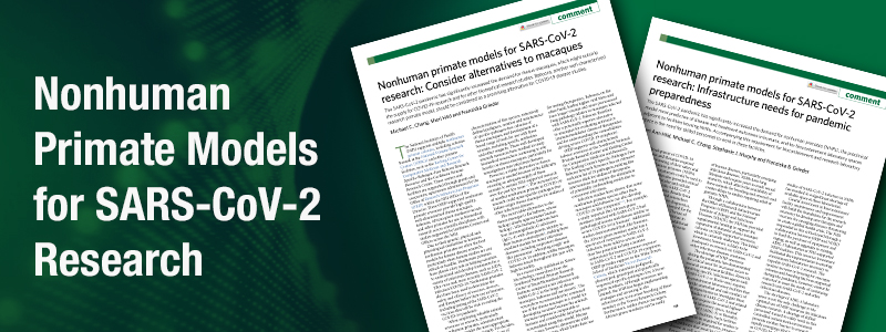 Nonhuman Primate Models for SARS-CoV-2 Research